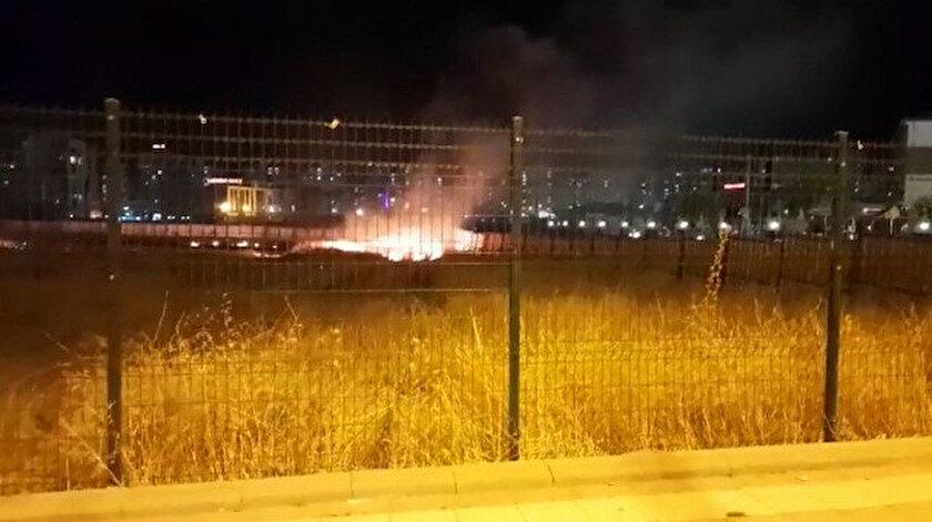 Havai fişek yine yangın çıkardı: Bu kez adres Diyarbakır