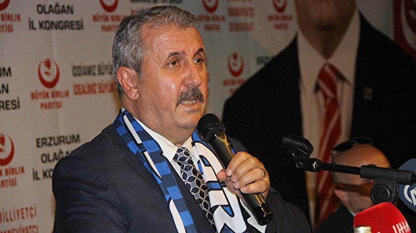 BBP Genel Başkanı Desticiden Akşenere Fatih Sultan Mehmet tepkisi: Özür bekliyoruz