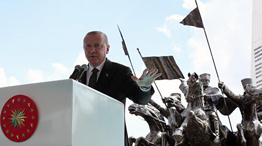 Cumhurbaşkanı Erdoğan: 2023 hedefleri küresel hegemonyaya başkaldırıdır