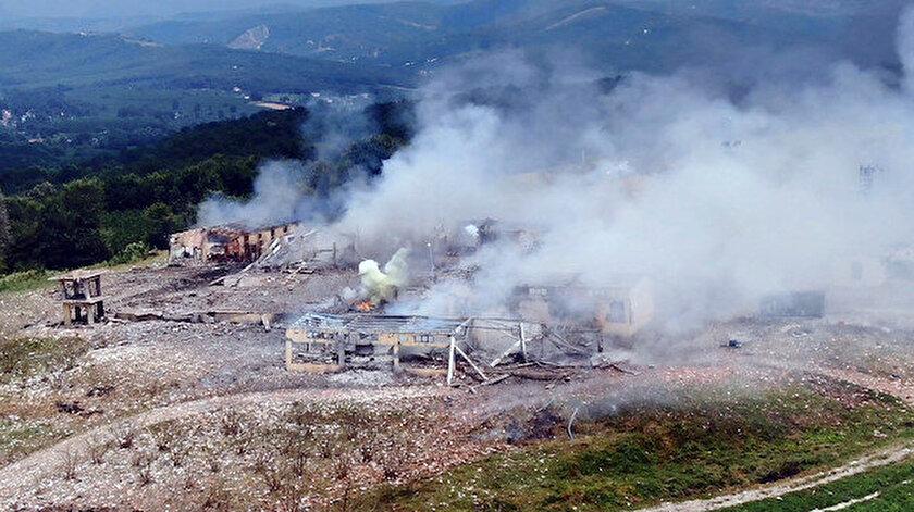 Hendekteki havai fişek fabrikasındaki sabotaj iddiasına MİT'ten cevap
