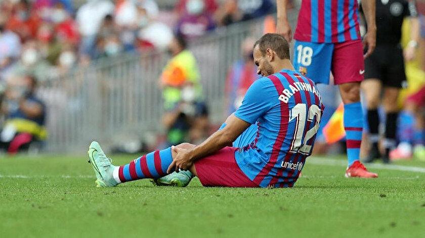 Barcelonada bir sakatlık şoku daha
