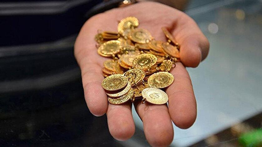 Kapalıçarşıda çeyrek altın günü 788 liradan tamamladı