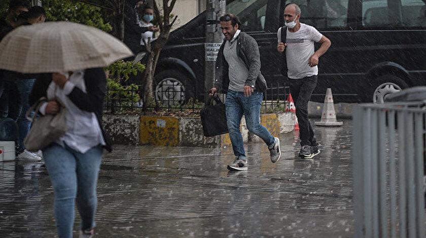 Meteorolojiden 18 ile yağış uyarısı! Ankara, istanbul, Rize, Trabzon, Eskişehir, Hatay hava durumu