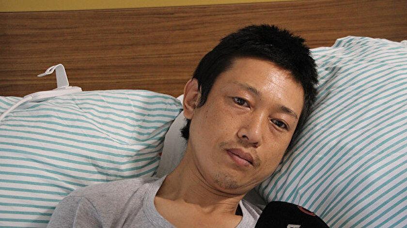 Dünya turu yapan Japonu Elazığda bıçaklayan kişi yakalandı
