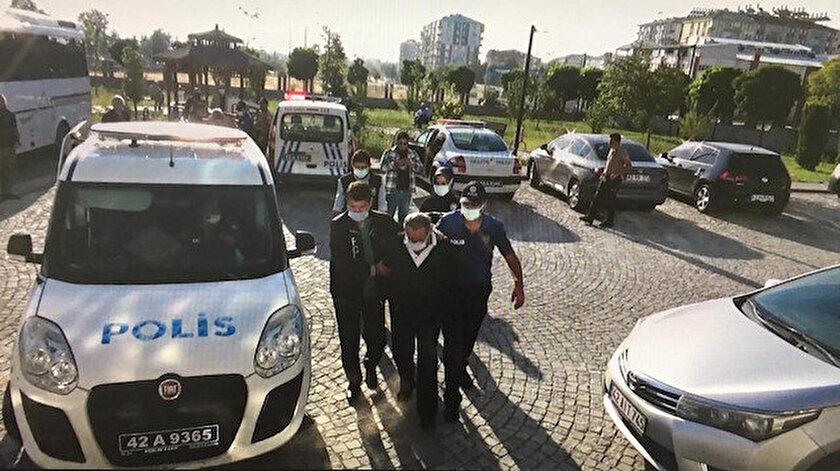 Konya son dakika haberleri: Seydişehirde suç örgütüne operasyon: 13 gözaltı