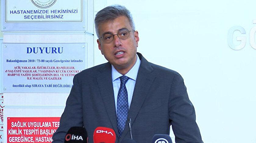 İstanbul İl Sağlık Müdürü Memişoğlu: İstanbulda koronavirüsle alakalı sayısal anlamda 15 gündür artış yok