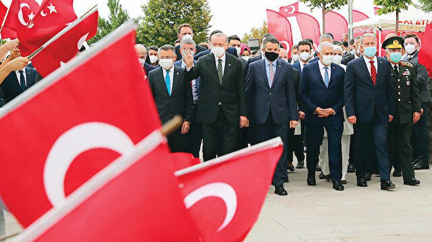 Sakarya Zaferinin 100. yıl dönümünde Erdoğandan tarihi çıkış: 2023 küresel başkaldırı