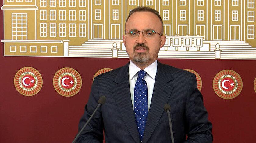 Ak Partili Bülent Turan: HDP kimi isterse Millet İttifakının adayı o olacaktır