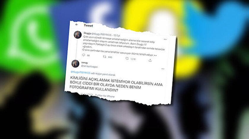Başkasının resmini kullanıp tecavüze uğradığını söylemişti: Erkek çıktı