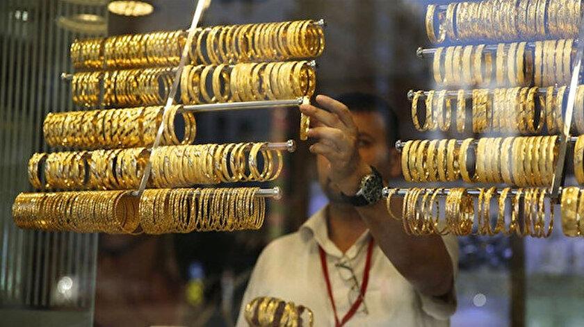Kapalıçarşıda altın yükselişle kapattı