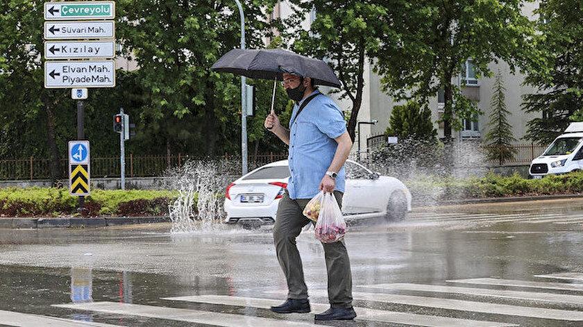 Ankara Valiliğinden kuvvetli yağış uyarısı: Sel ve su baskınlarına dikkat