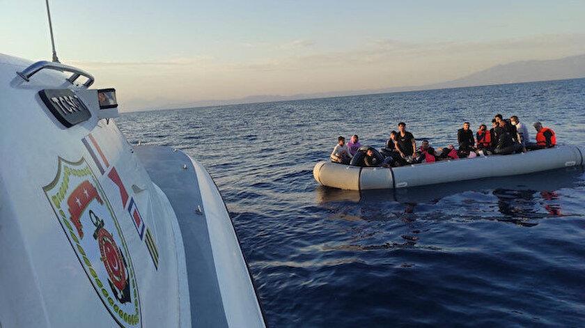 Yunanistanın ittiği 49 göçmen daha kurtarıldı