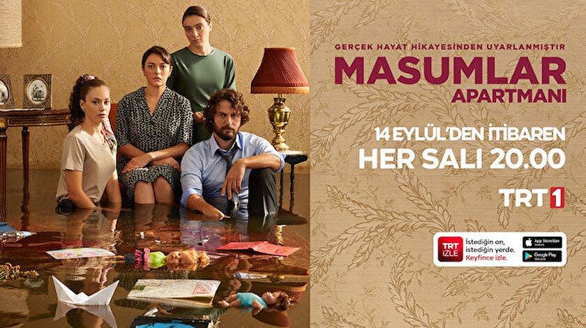 """""""Masumlar Apartmanı""""  Yeni Sezon İlk Bölümüyle Bu Akşam TRT 1'de"""