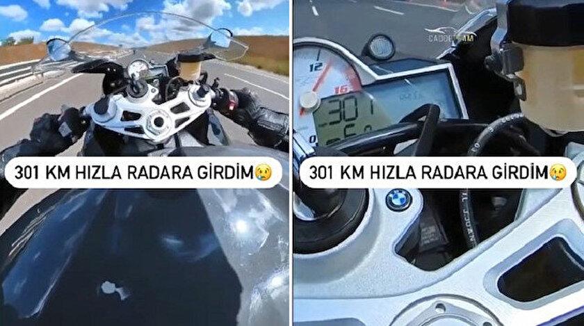 301 km hızla radara yakalanınca bin 339 TL ceza yedi - Kocaeli haberleri