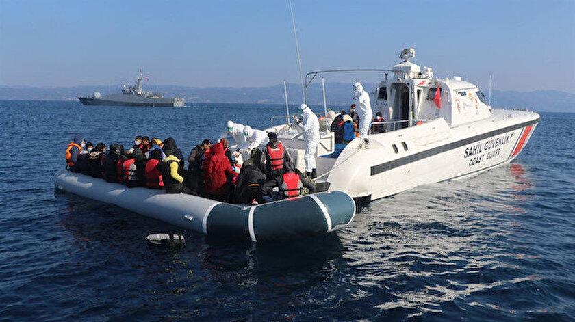 Yunanistan unsurlarının bu yıl geri ittiği 6 bin göçmeni Türkiye kurtardı