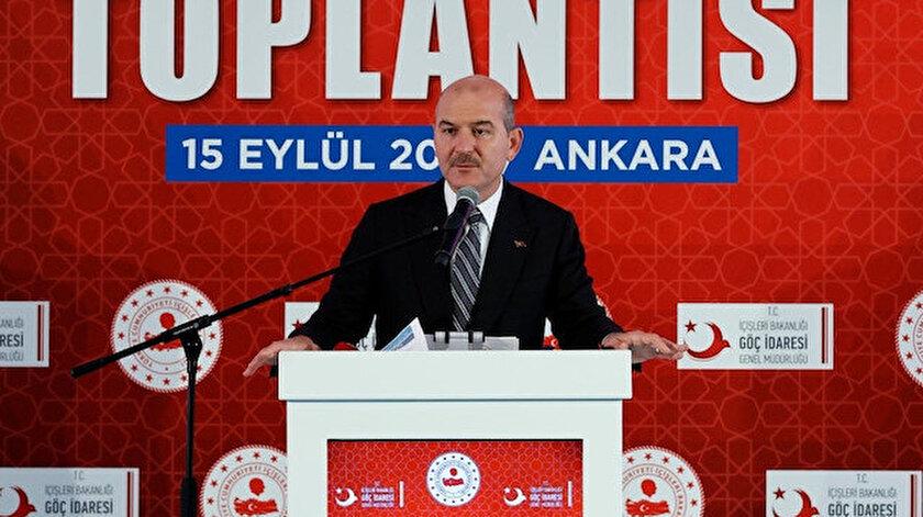 İçişleri Bakanı Süleyman Soylu ayrılan Suriyeli sayısını açıkladı  