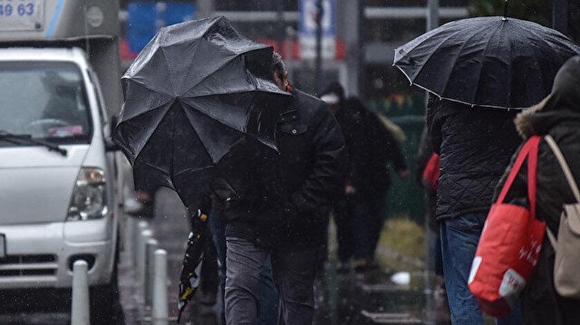 Meteorolojiden 11 ile kuvvetli yağış uyarısı yapıldı