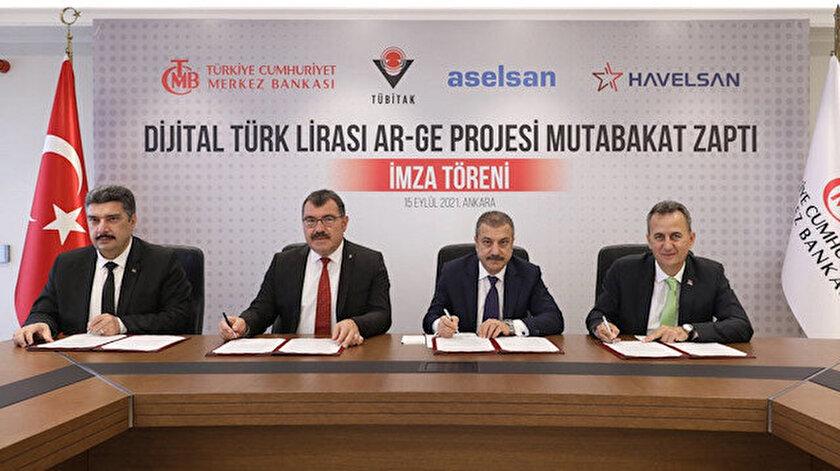 Merkez Bankasından Dijital Türk Lirası için ilk adım