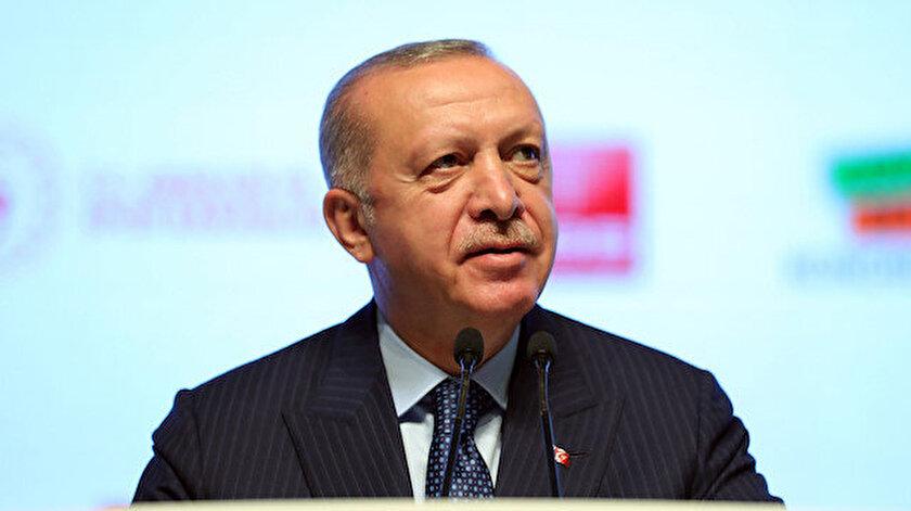 Cumhurbaşkanı Erdoğandan Bakü mesajı