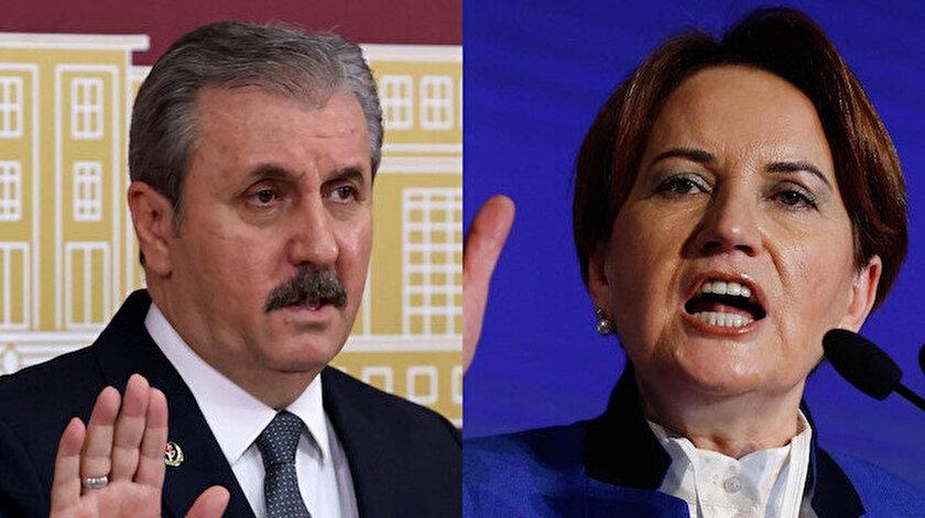 BBP Genel Başkanı Mustafa Destici: Meral Akşener HDPyi PKKnın yanında konumlandırıyorsa kendi ağzından duymak istiyoruz