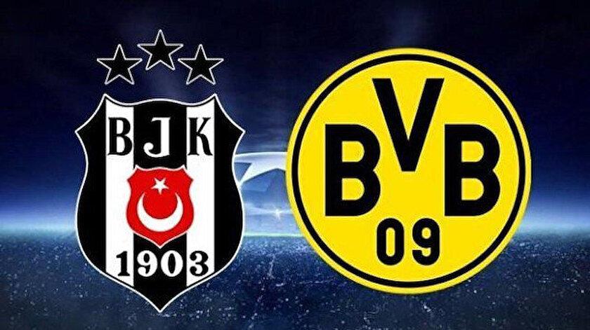 Beşiktaş- Borissia Dortmund canlı anlatım, canlı skor