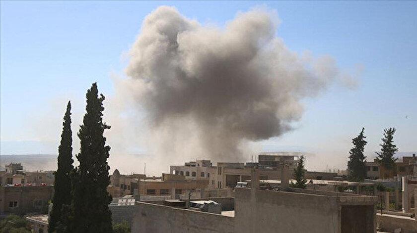 Rusya İdlibe 15 hava saldırısı düzenledi
