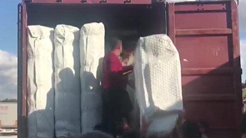 Yedi milyon liralık vurguna hazırlanan kaçakçılık şebekesine darbe