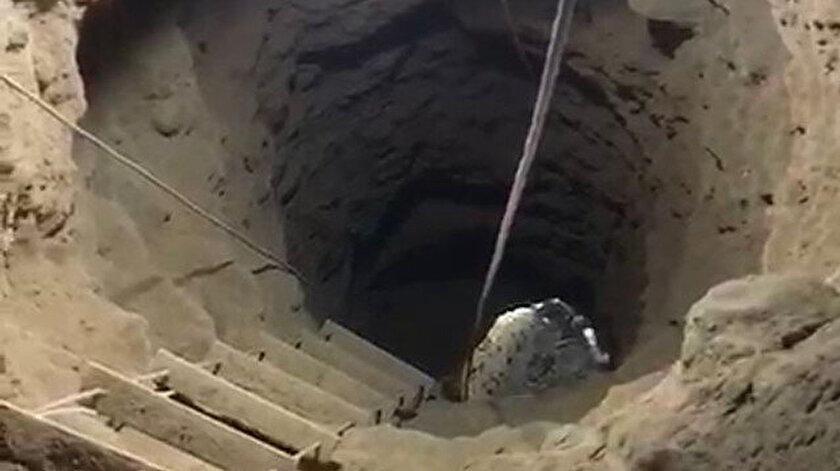 Suçüstü yakalandılar: 13 metre derine inmişler