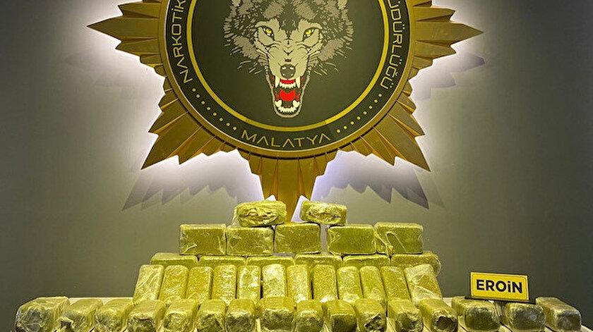 Zehir tacirlerine büyük darbe: Bu yıl 13 ton eroin ele geçirildi