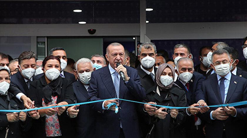 Cumhurbaşkanı Erdoğan AK Parti Kırşehir İl Başkanlığı Binası Açılış Törenine katıldı