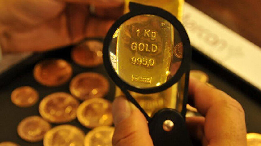 Kapalıçarşıda altın düşüşle kapattı
