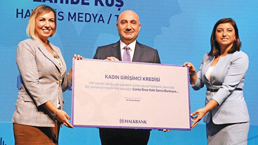 Kadın girişimciye 5 milyar lira kredi