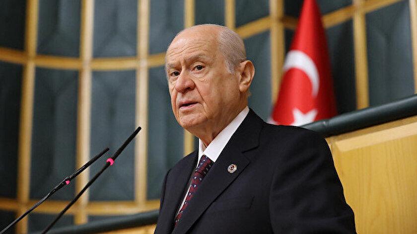Devlet Bahçeli: CHPnin ipini tutup diyet listesi dayatanlar Türkiye'nin muazzam yükselişini engelleyemeyecektir