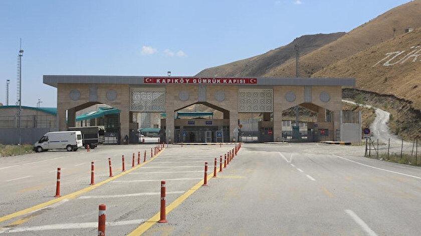 Kapıköy Gümrük Kapısı 19 ay sonra sonra İran geçişine açıldı