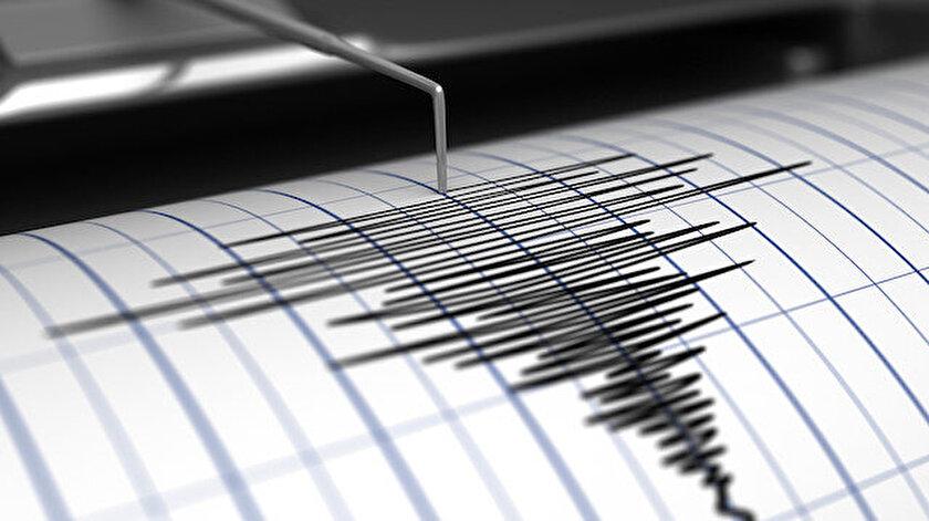 Son depremler: Denizlide 3.9 büyüklüğünde deprem