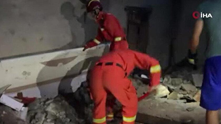 Çin'de 6 büyüklüğünde deprem: 3 ölü 60 yaralı