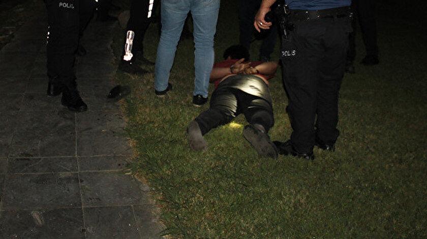 FETÖden aranan eski komiser polisi yaralayıp kaçmaya çalıştı