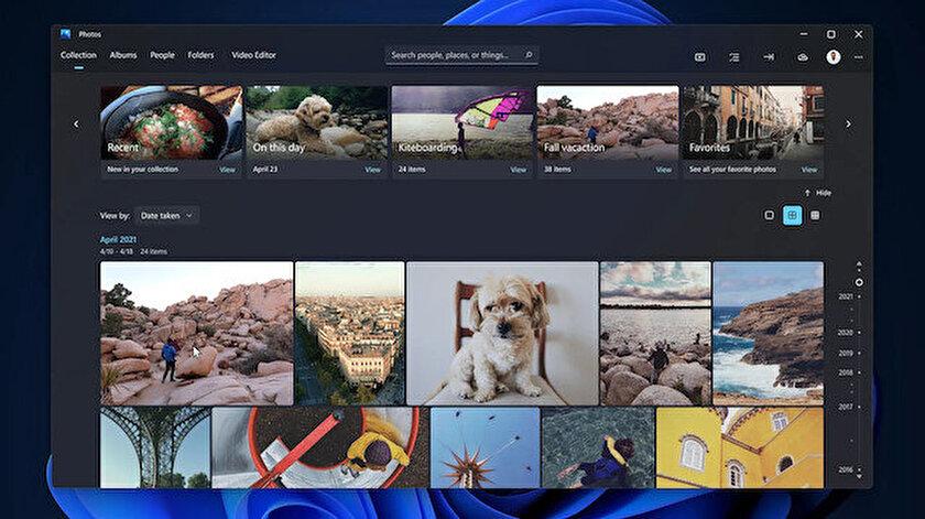 Windows 11 yeni Fotoğraflar uygulaması kullanıma açıldı