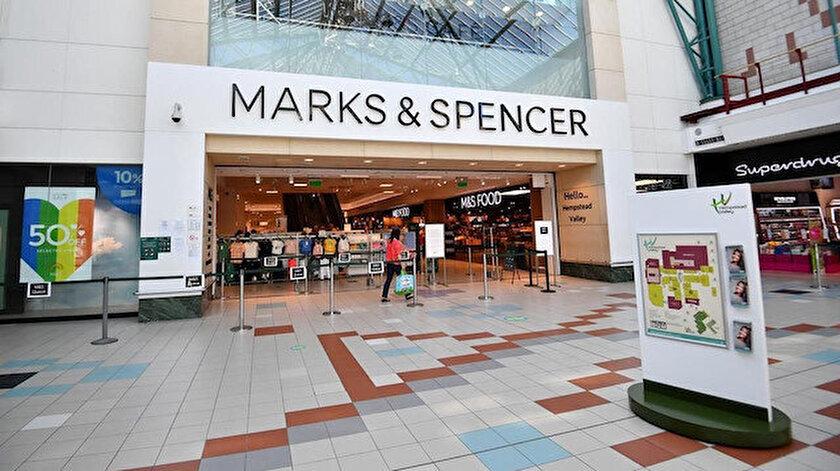 Marks&Spencer Fransadaki 11 mağazasını kapattı