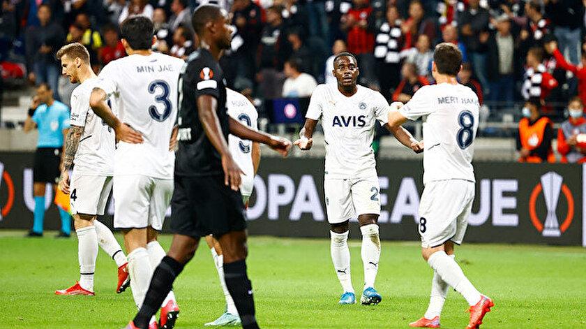 Canlı skor: Frankfurt-Fenerbahçe maçı kaç kaç? Golleri kim attı?