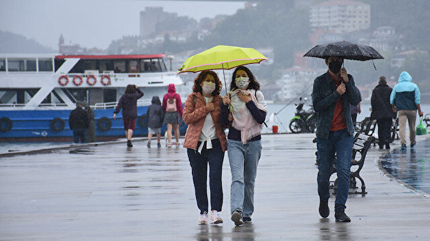 İstanbul ve Trakya için kuvvetli yağış uyarısı! İstanbul, Edirne, Tekirdağ, Kırklareli hava durumu