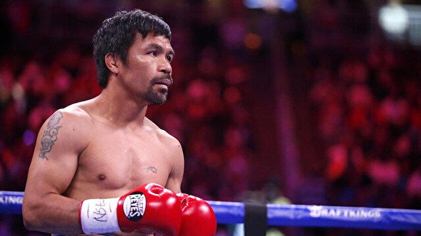 Filipinli ünlü boksör Manny Pacquiao devlet başkanlığına aday oldu