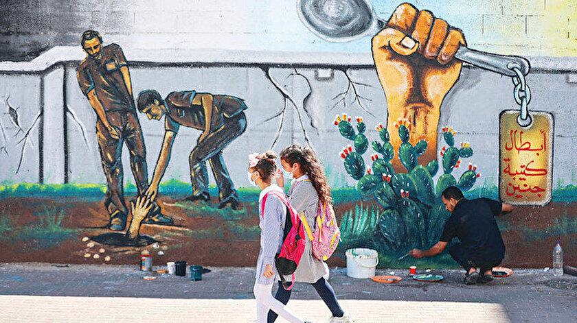 Filistinde direnişin yeni sembolü