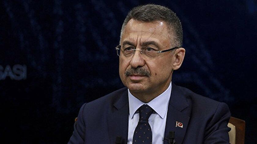 Cumhurbaşkanı Yardımcısı Oktay: Mavi Vatanı savunmak milli bir duruş gerektirir CHPde bu var mıdır onu bilemeyiz