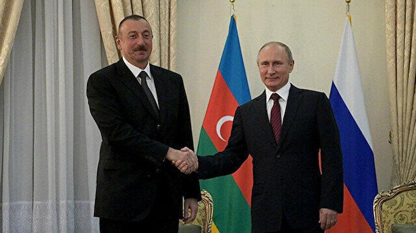 Aliyevden Putine seçim için tebrik Perm için taziye mesajı