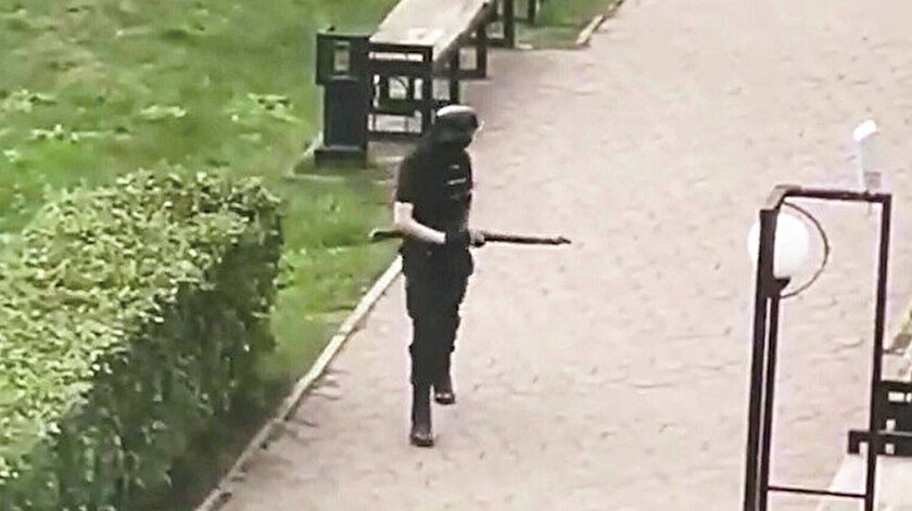Rusya'da  üniversiteye silahlı saldırı: 8 ölü 28 yaralı, Rusyadaki üniversite saldırısı