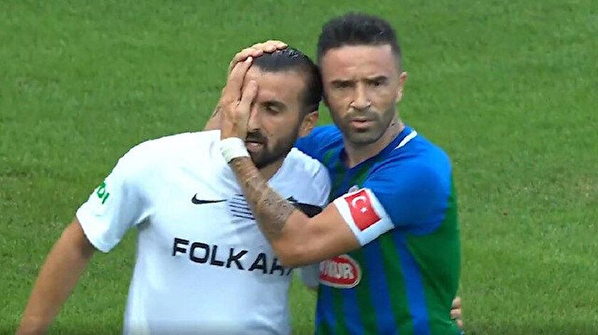 Erhan Çelenkten Rizespor-Altay maçında yılın fair-play hareketi