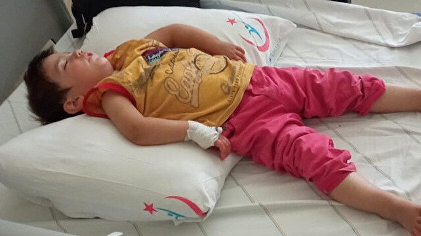 İlaç yutan bir yaşındaki Latife hastanelik oldu