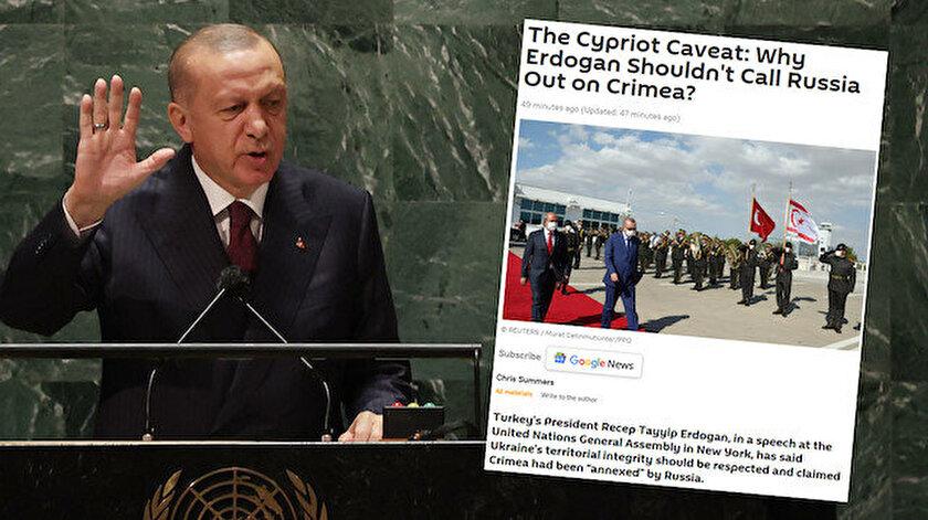 Cumhurbaşkanı Erdoğan Kırım deyince Sputnik Rum tarafına geçti