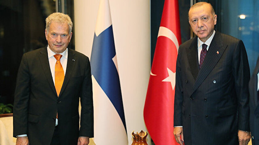 Cumhurbaşkanı Erdoğan ile Finlandiya Cumhurbaşkanı Niinistö görüştü